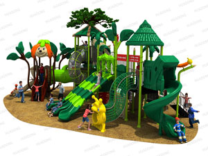 woods series outdoor playground HD-HSL001-19036