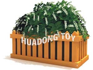 Wood flower basket HD15B-145Q