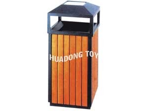 Wooden dustbin HD15B-145M