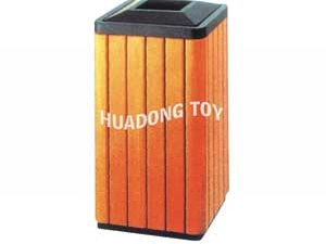 Wooden dustbin HD15B-145L