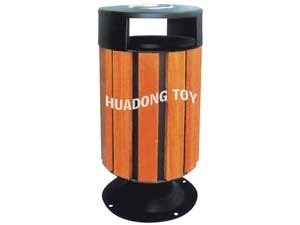 Wooden dustbin HD15B-145K