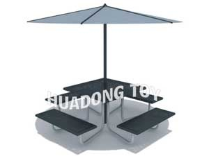 steel table with chairs HD15B-146L