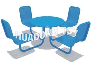 steel table with chairs HD15B-146K