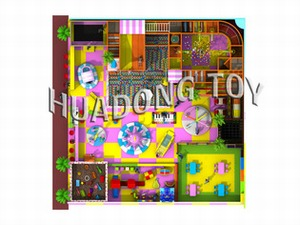Indoor playground Candy House HD15B-061A