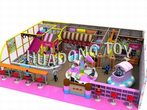 Indoor playground Candy House HD15B-062A