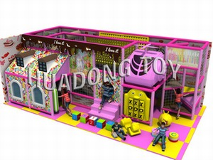 Indoor playground Candy House HD15B-062B