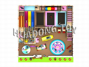 Indoor playground Candy House HD15B-064A