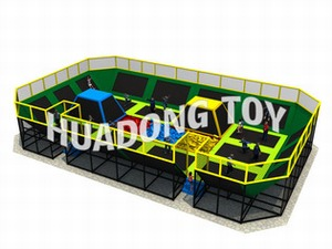 Indoor playground Trampoline HD15B-126A