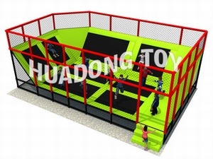 Indoor playground Trampoline HD15B-126B