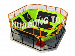 Indoor playground Trampoline HD15B-126C